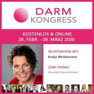 Darm Kongress 2020 | Katja Weidemann: Gesunder Darm bei Kindern